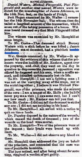 1851 - ATKINSON Trial March 26th 1851